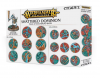 WARHAMMER AGE OF SIGMAR SHATTERED DOMINION basette rotonde da 25 mm & 32 mm