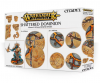 WARHAMMER AGE OF SIGMAR SHATTERED DOMINION basette rotonde da 40 mm & 65 mm